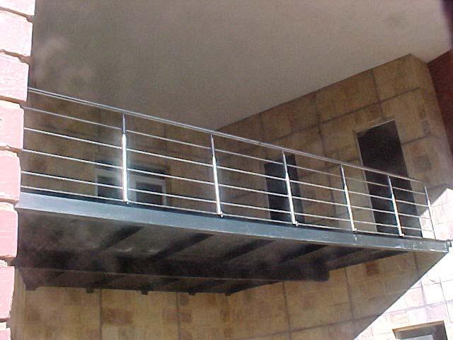 Diy stainless steel balustrades for Balcony balustrade