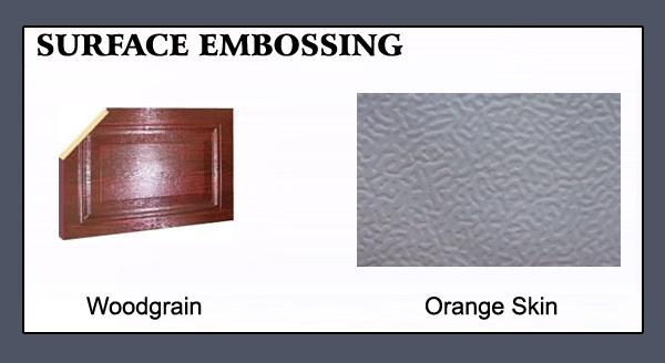 Kingdom Doors Surface Embossing