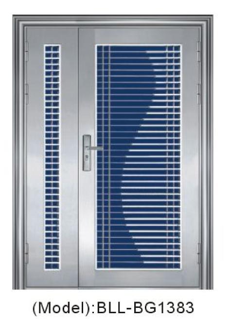 Kingdom Doors Stainless Steel Security Doors