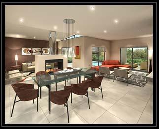 Bedfordview contemporary interior design for Interior decorators zà rich